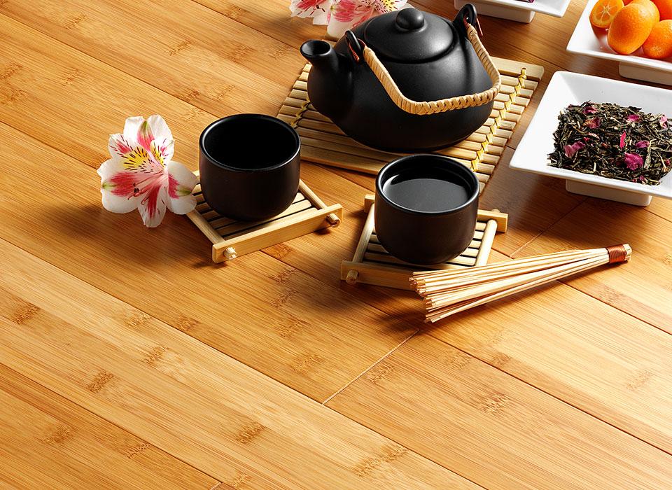 Traditioneller Bambus